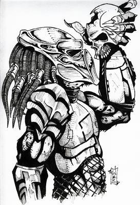Drawn predator skull Depredador Buscar depredador Google como