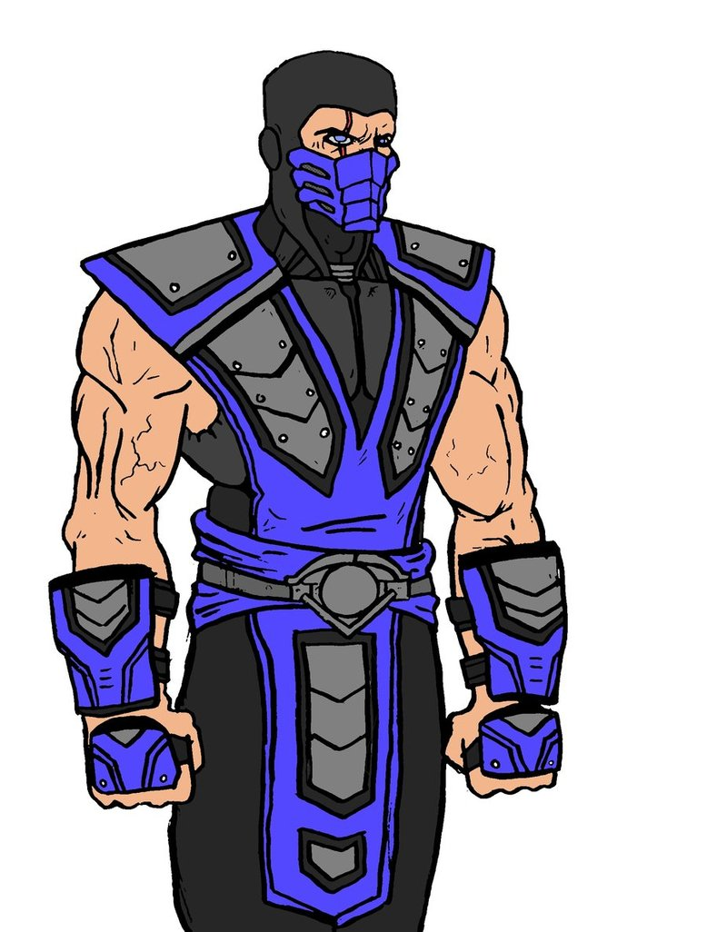 Drawn predator sub zero Zero NiteOwl94 Zero by NiteOwl94