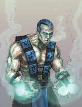 Drawn predator sub zero Concept unmasked Sub the Alliance