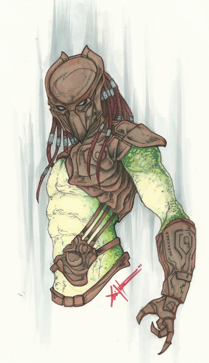 Drawn predator tracker By ChrisOzFulton by Falconer predator