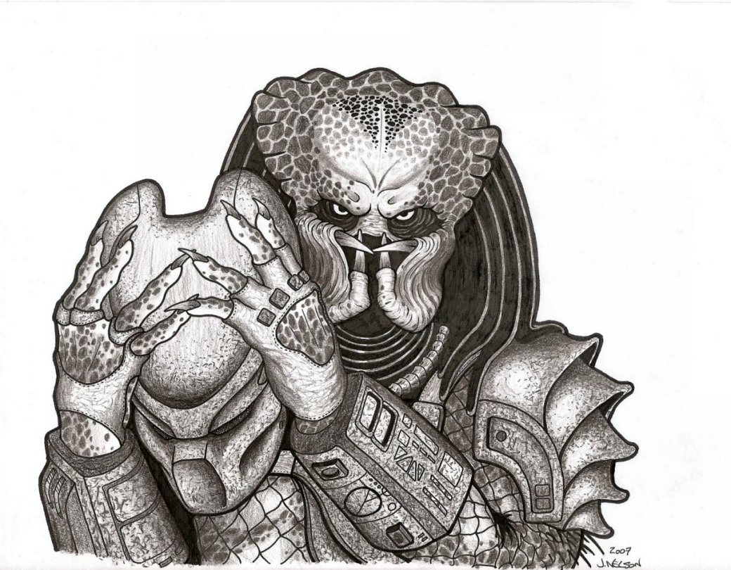 Drawn predator wolf Predator GALLERY: 0 The artworks