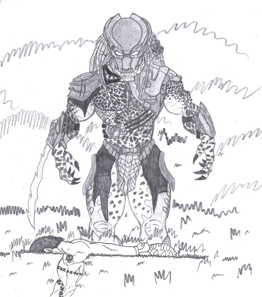 Drawn predator wolf Artworks  Bender1988