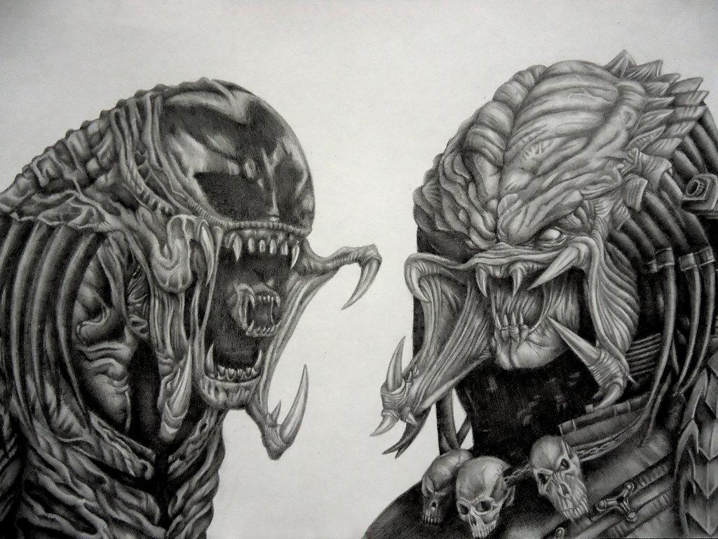 Drawn predator wolf Terminator copyright more Pin Thomas