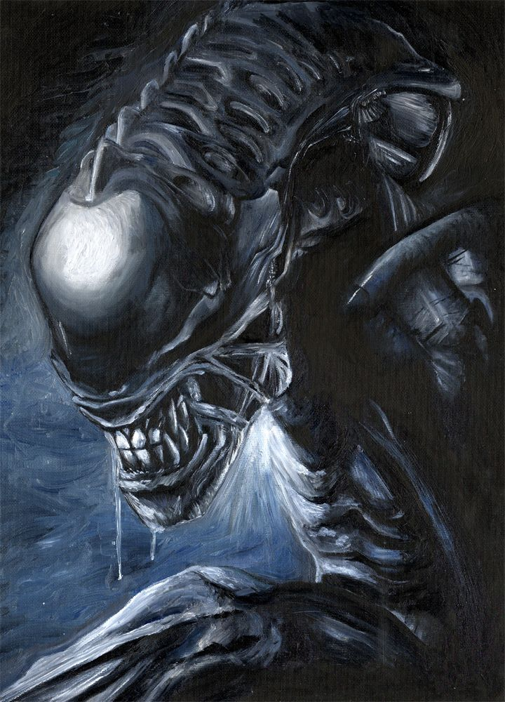 Drawn predator xenomorph Images Xenomorphs / Horror on