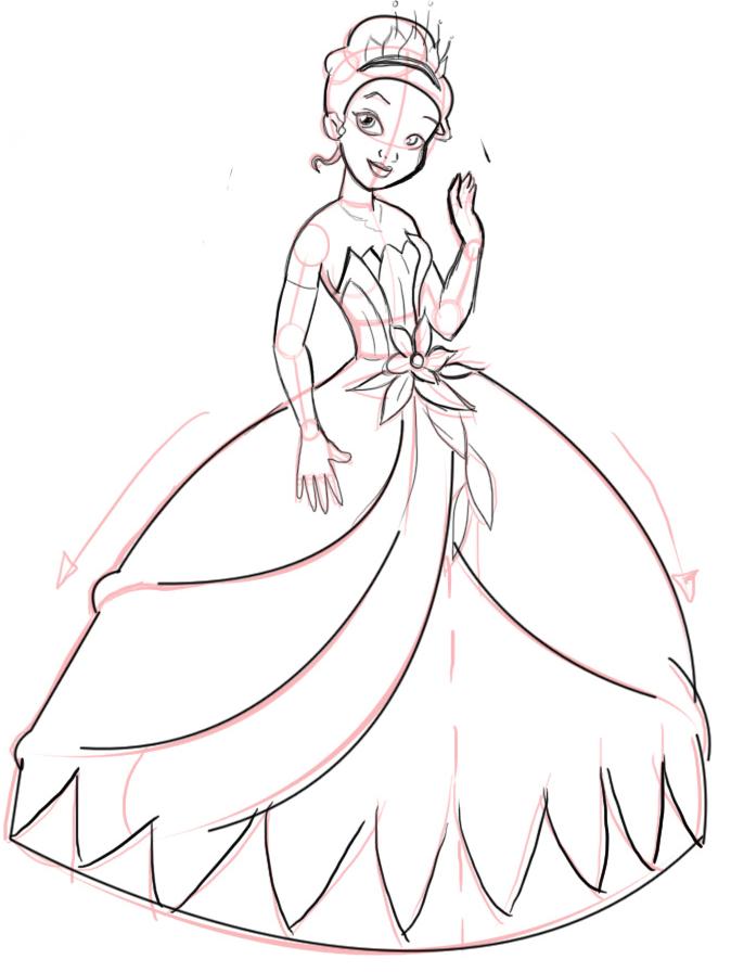 Drawn princess Disneys to and Princess the