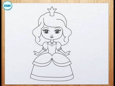 Drawn princess Draw YouTube a How to