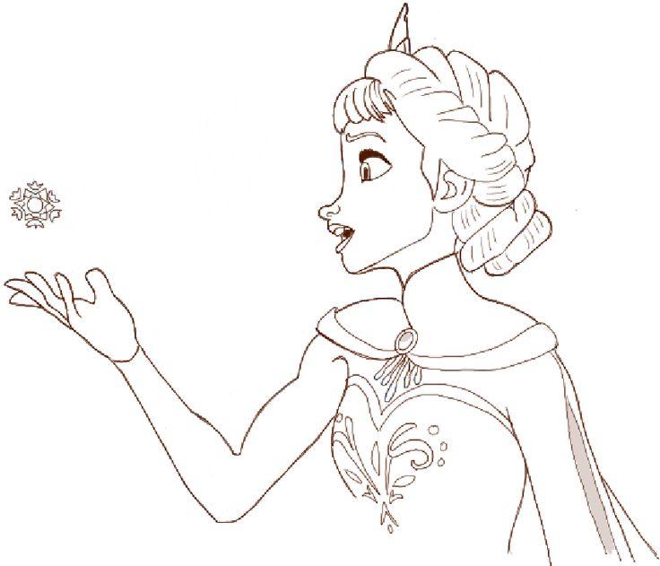 Drawn princess Princess Tutorial Frozen How draw