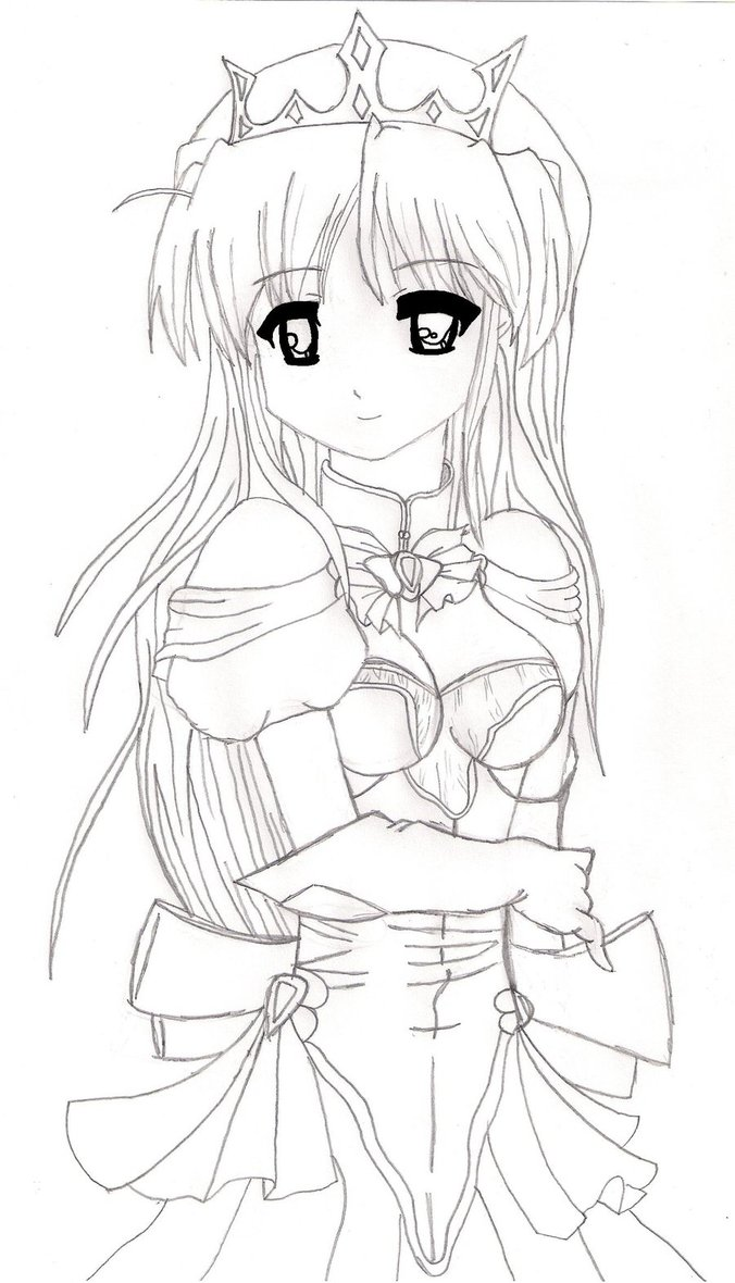 Drawn princess anime ShetXHorse Princess ShetXHorse Anime by