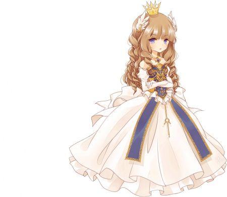 Drawn princess anime XD anime queen on princess