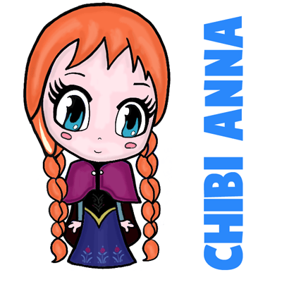 Drawn princess anna From Draw Draw with How