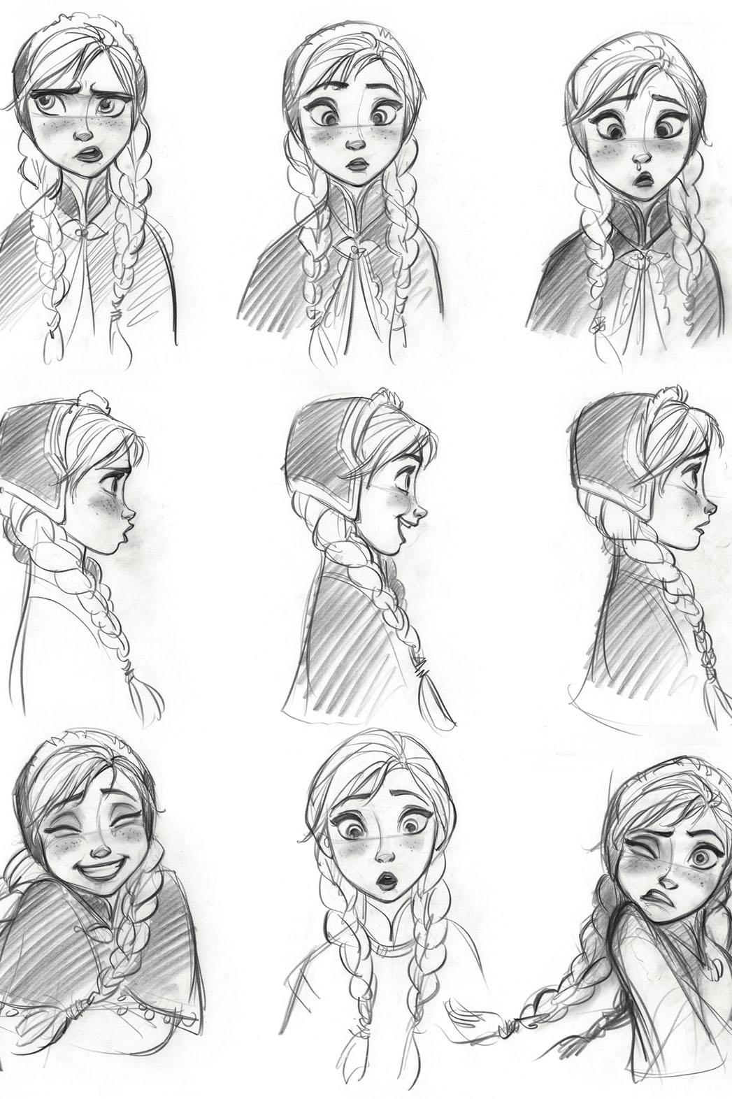 Drawn princess anna FROZEN❄ best Pinterest  on