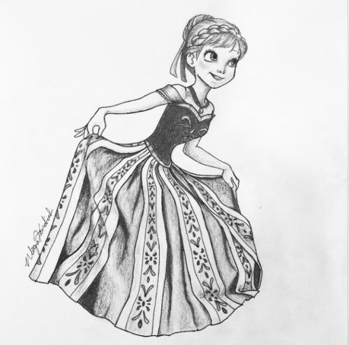 Drawn princess anna Not of like happy My