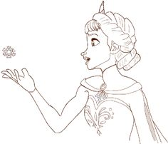 Drawn princess anna frozen How  Today you by