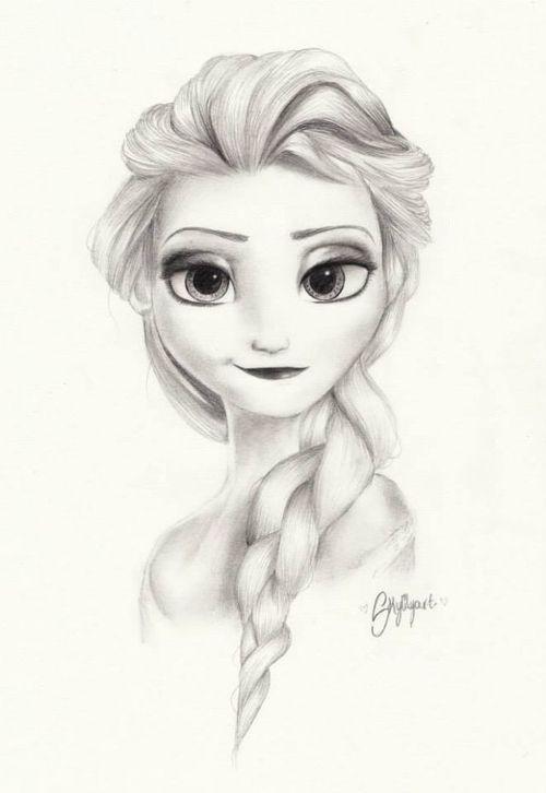 Drawn princess anna frozen Elsa on images Frozen Queen