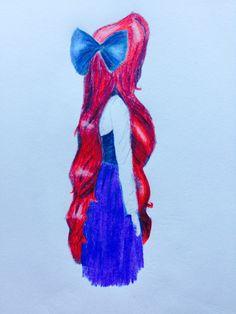 Drawn princess ariel  Search drawings Google tumblr