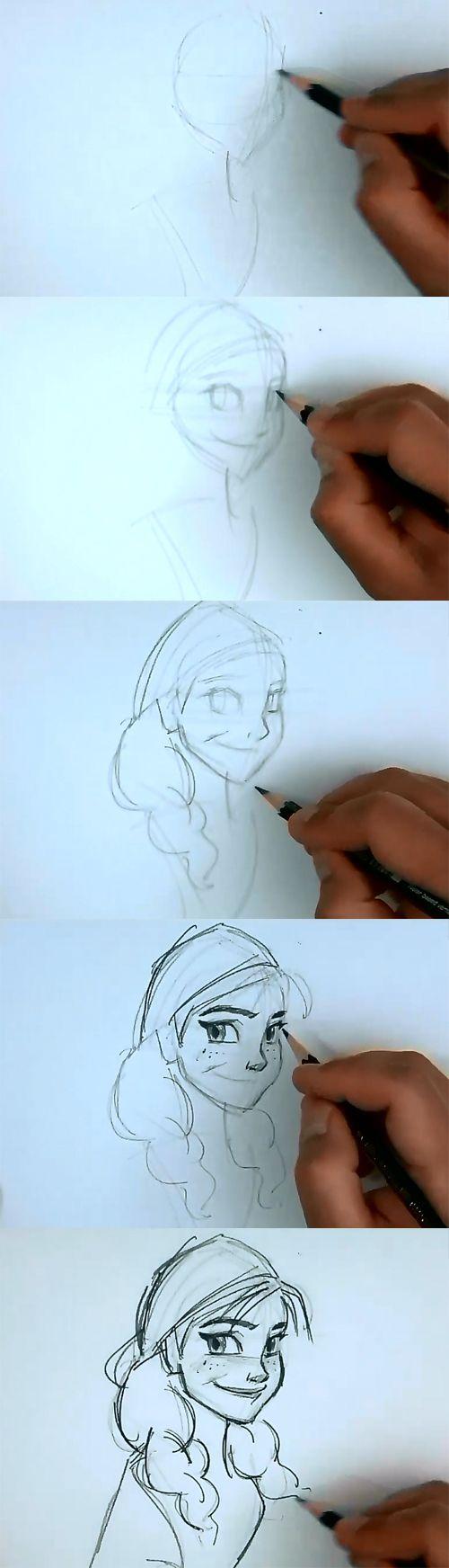 Drawn princess awesome Princess draw on draw draw