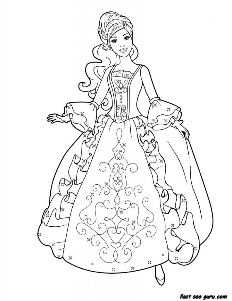 Drawn princess barbie Drawing Ideas On Barbie Art