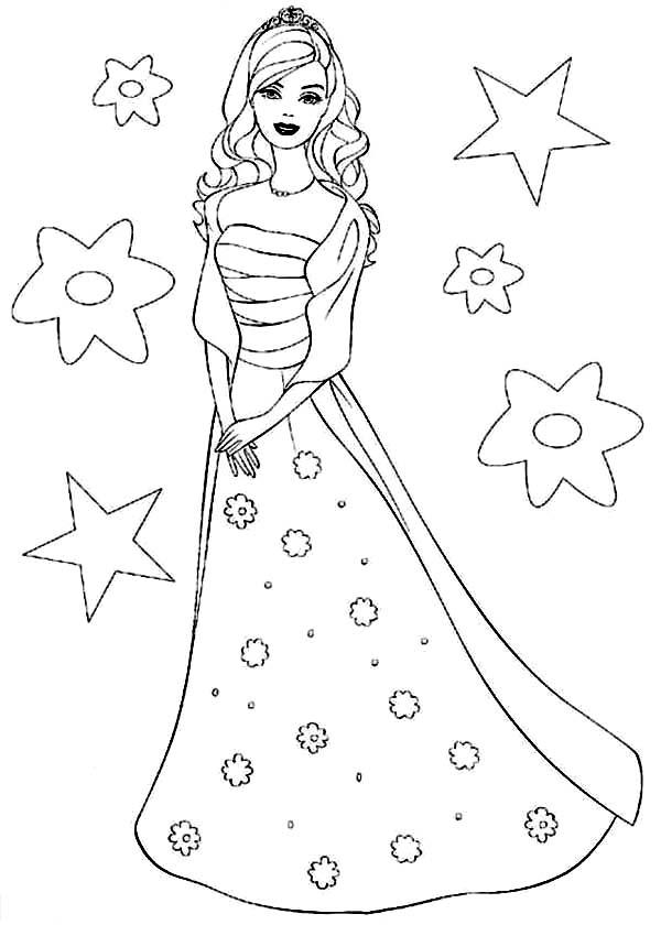 Drawn princess barbie  Doll Fashion Doll Barbie