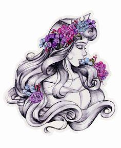 Drawn princess beautiful princess Princess #Disney This Princess│Disney Princesas