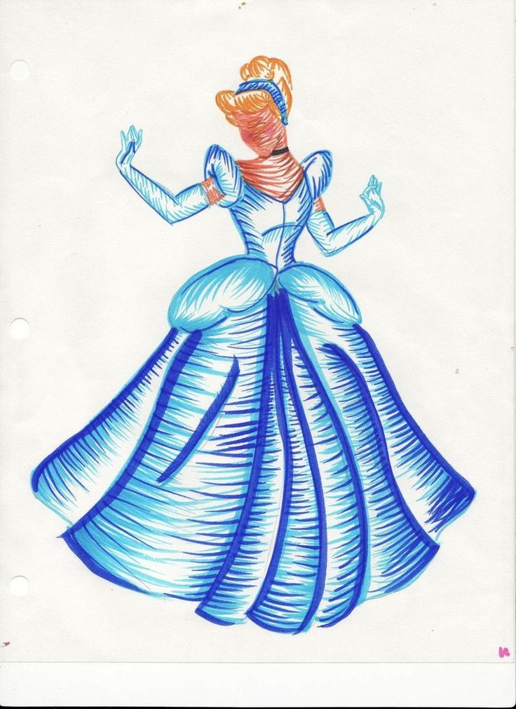 Drawn amd cinderella DisneyDisney Cinderella drawing Pinterest cubeofsugar