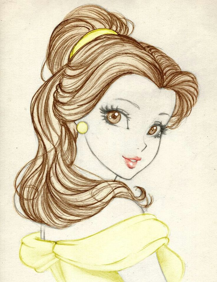 Drawn princess belle Belle about the  and