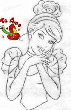 Drawn princess cartoon How Snow Snow Disney's White