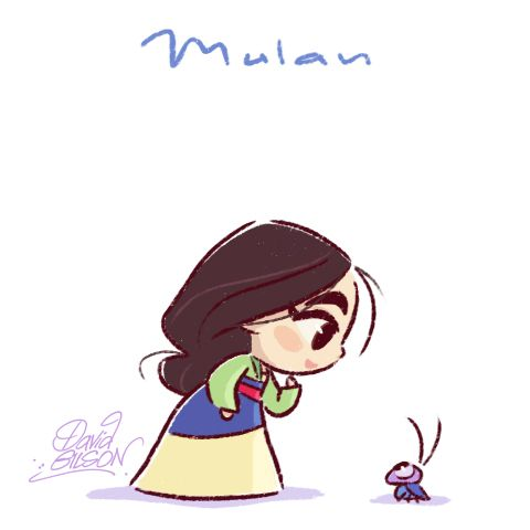 Drawn princess cartoon Mulan Baby Kee & ideas