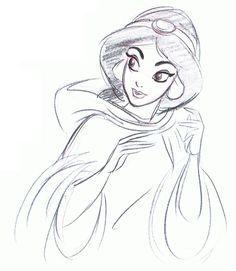 Drawn princess character sketch And Draw How to princess