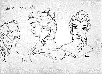 Drawn princess character sketch Best characters walt Pinterest disney