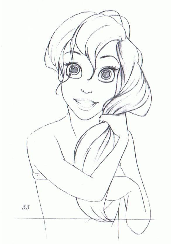Drawn princess character sketch Art Google Search sketches Pinterest