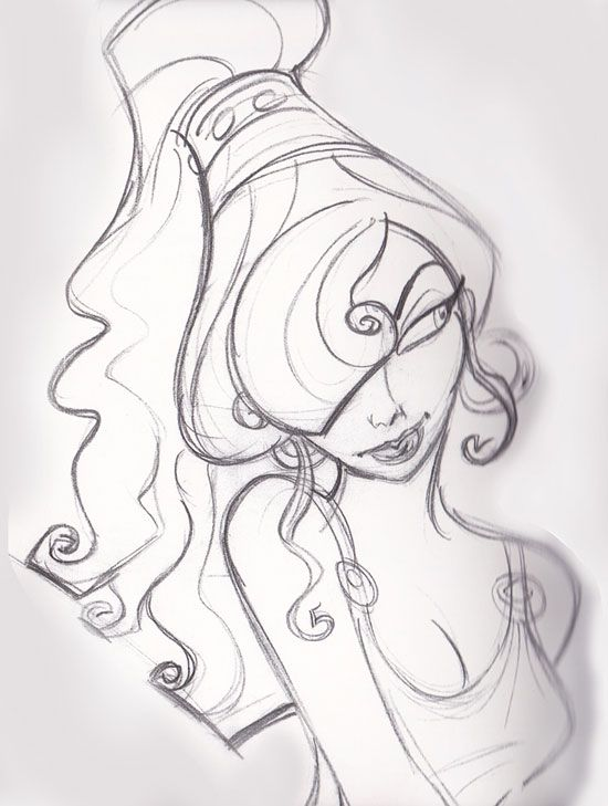 Drawn princess character sketch Images Sketches more on on