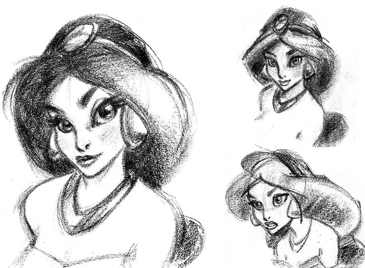 Drawn princess character sketch Images her must Pinterest draw