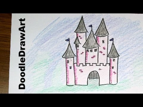 Drawn castle easy #7