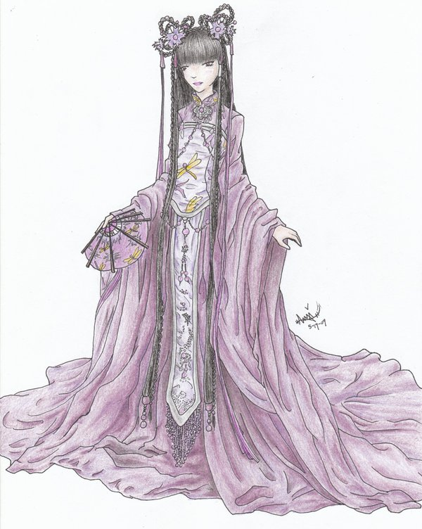 Drawn princess chinese princess Billkaulitzluvergirl Princess DeviantArt on by