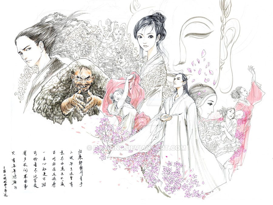 Drawn princess chinese princess On Diaries Princess daxiong by