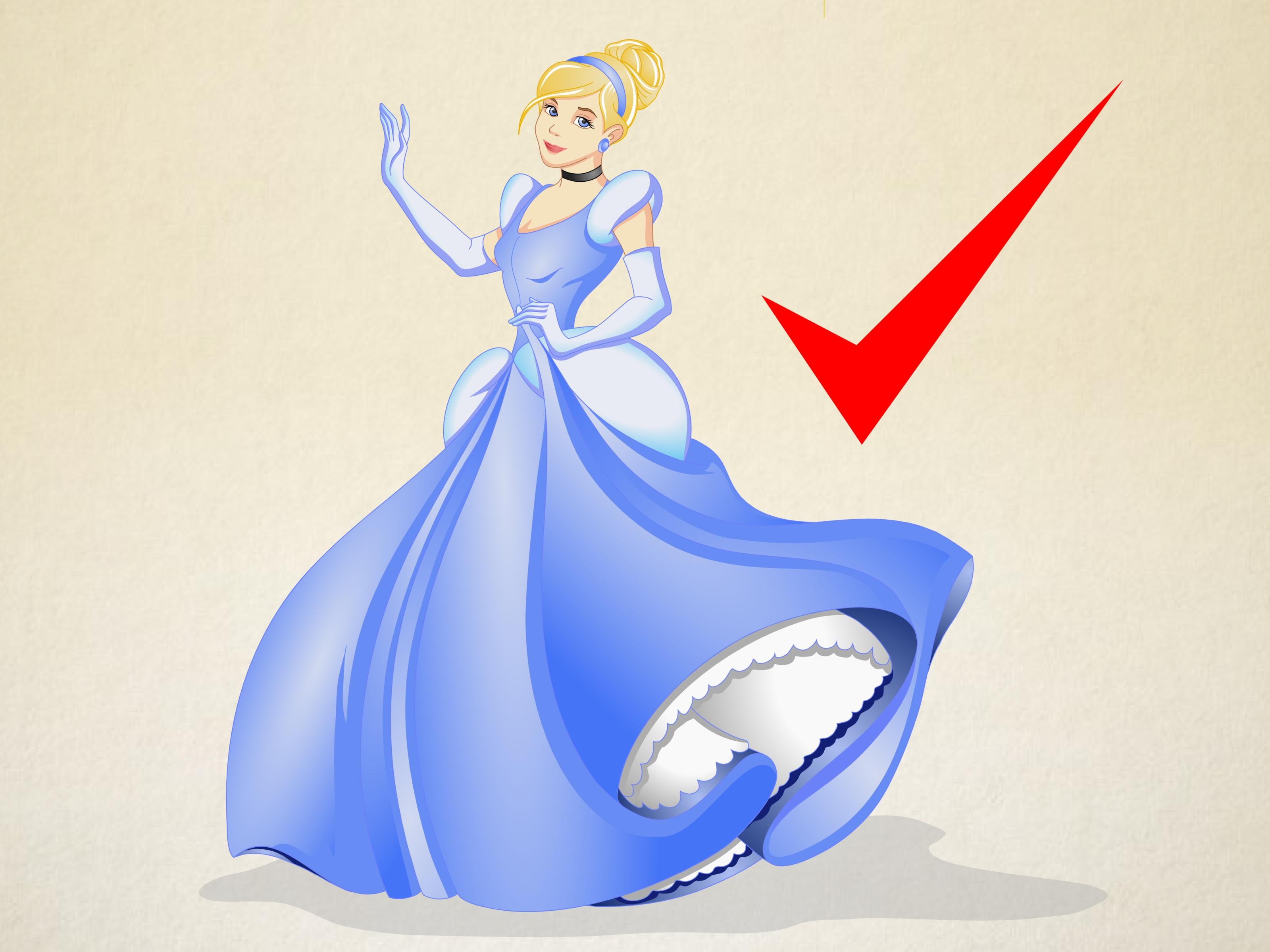 Drawn princess cinderella (with How to Draw Disney