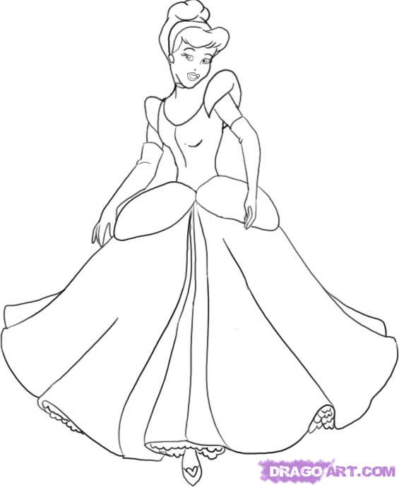 Drawn princess cinderella Robocast to draw cinderella Web