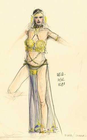 Drawn princess concept art Princess the could Early Leia