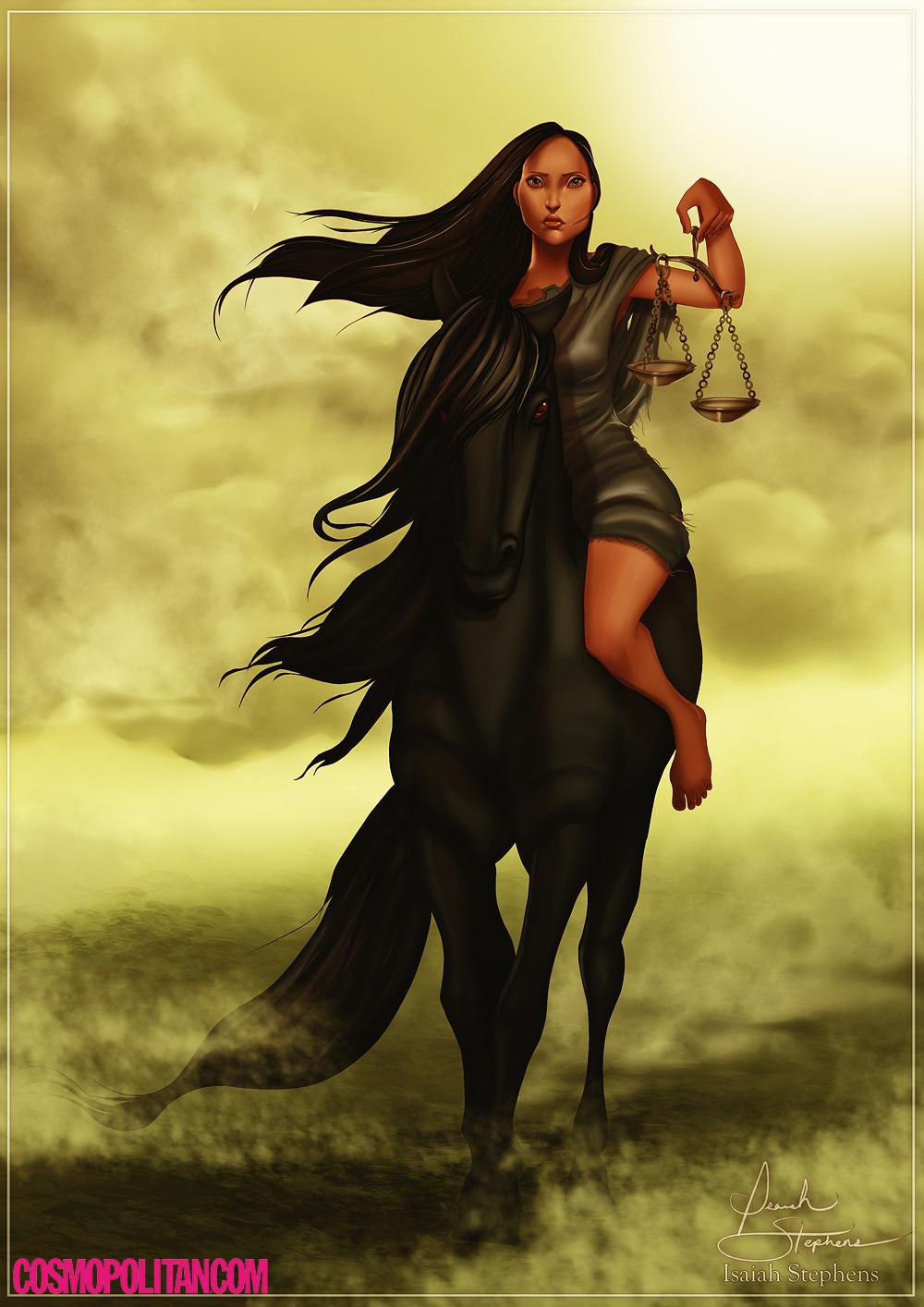 Drawn princess cosmopolitan Princesses  The Horsemen The