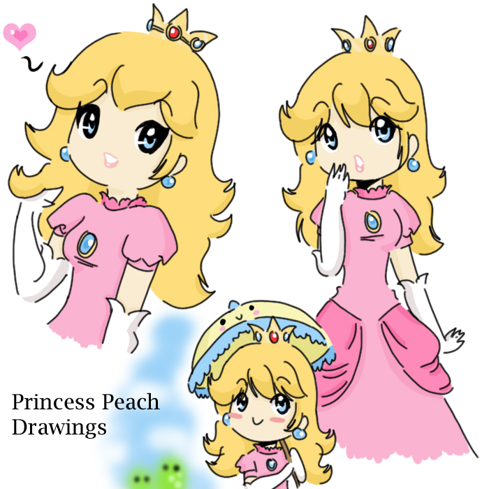 Drawn princess cute Peach drawings StarValerian by on