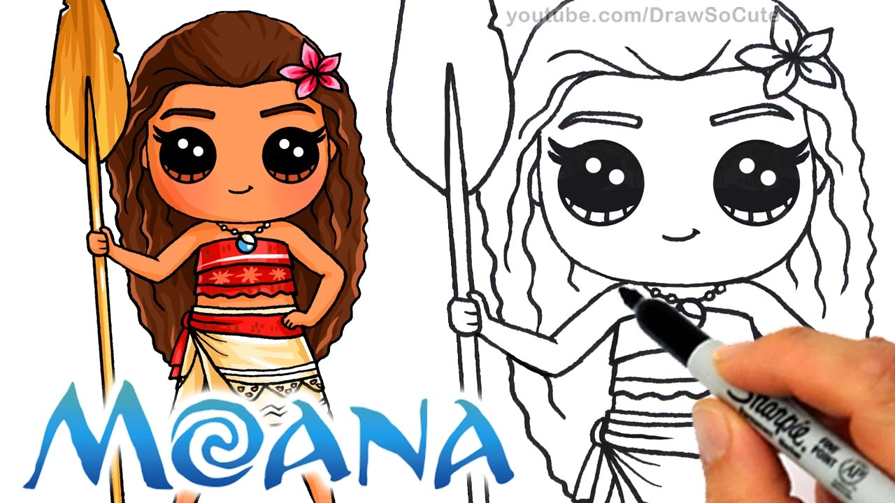Drawn princess cute Draw step by Chibi Princess
