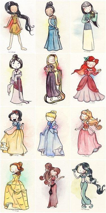 Drawn princess cute Pinterest It draw on just