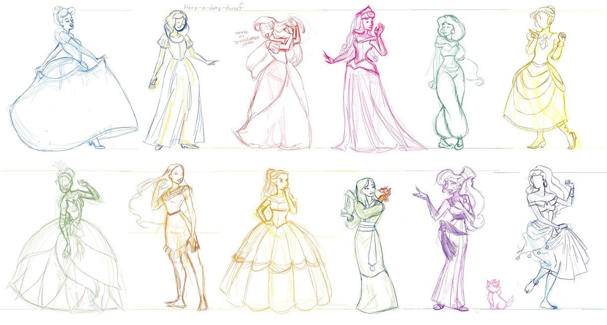 Drawn princess deviantart Disney DeviantArt Whatnot and by