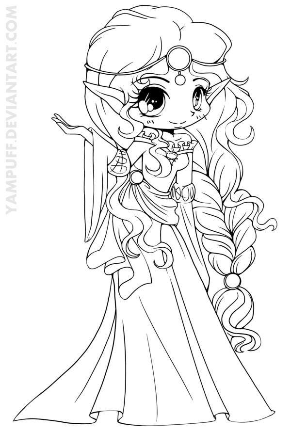 Drawn princess deviantart   Chibi to *YamPuff