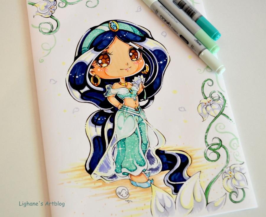 Drawn princess deviantart Chibi Lighane Chibi com @DeviantArt
