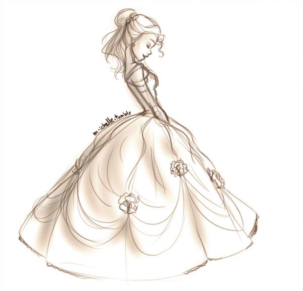 Drawn princess deviantart  stuff Disney Belle Belle