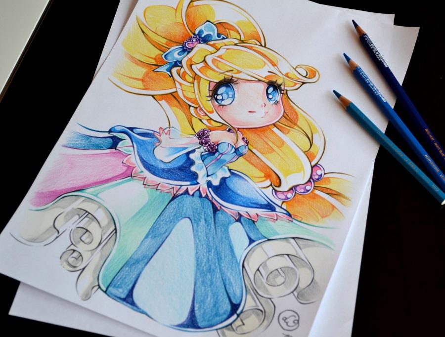 Drawn princess deviantart Chibi DeviantArt Princess drawings OC