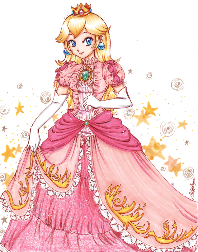 Drawn princess deviantart Princess com Peach @deviantART Princess