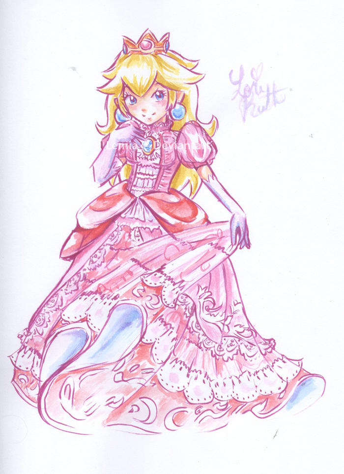 Drawn princess deviantart Princess Ruth) LemiaCrescent (Lori Peach