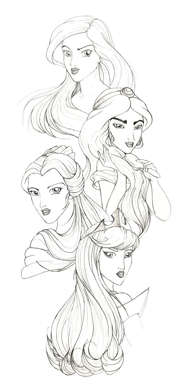 Drawn princess deviantart Disney DeviantArt on Disney by